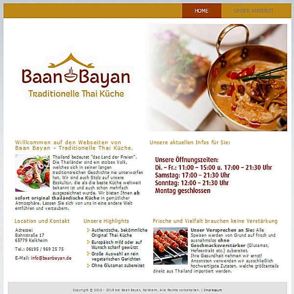 Website Screenshot baanbayan.de